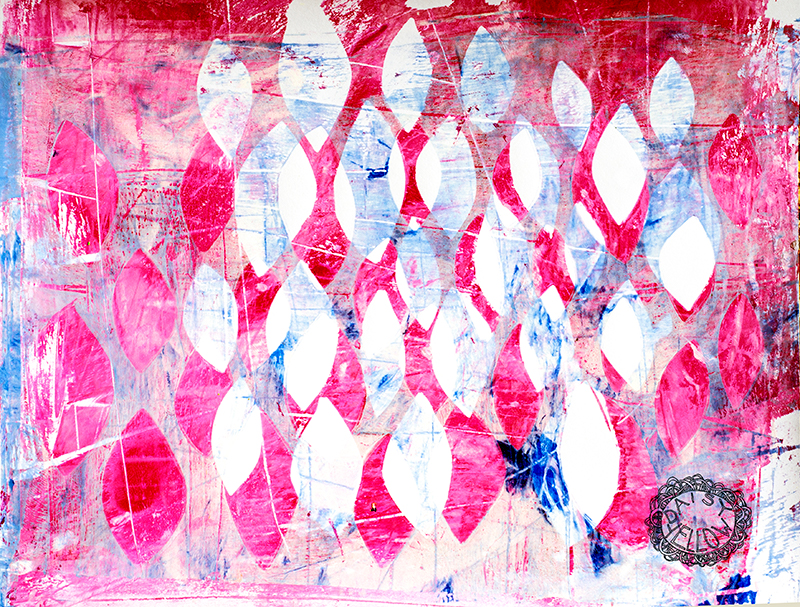 gelatin print.ART BY TAMMY GARCIA.
