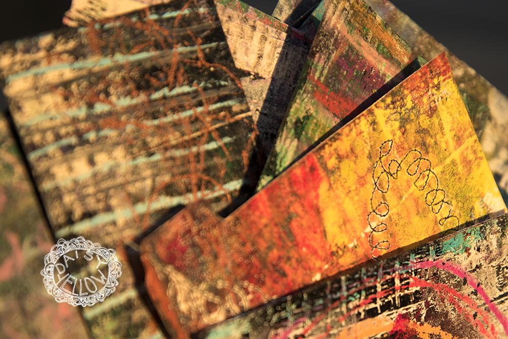 gelatin prints, index cards.ART BY TAMMY GARCIA.