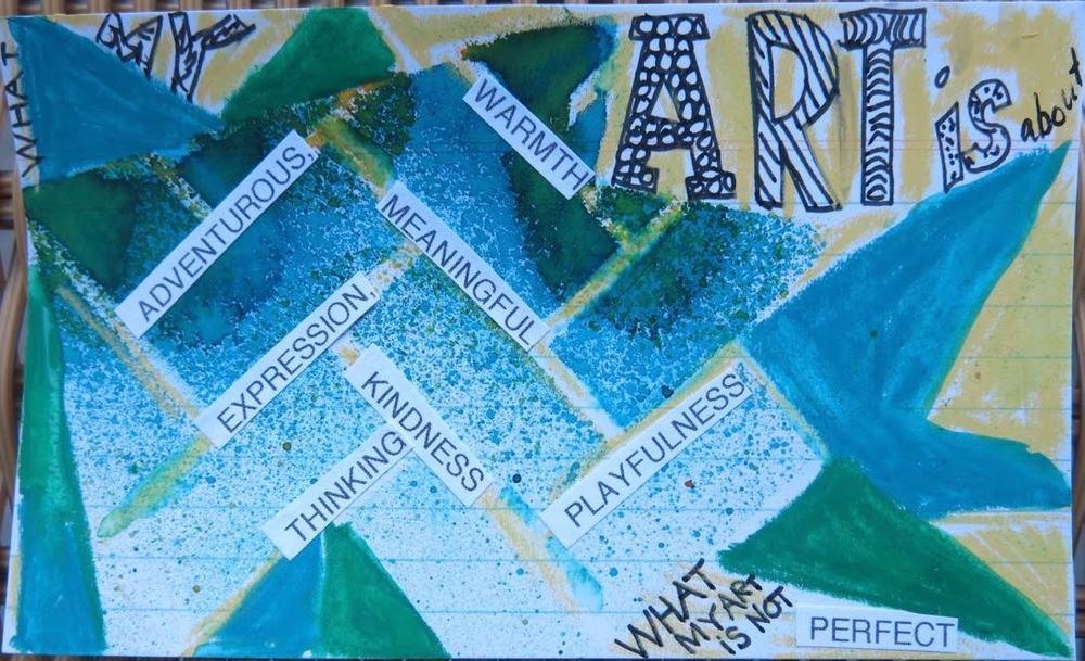 "3x5"" Index Card Art by Denyse Whelan."