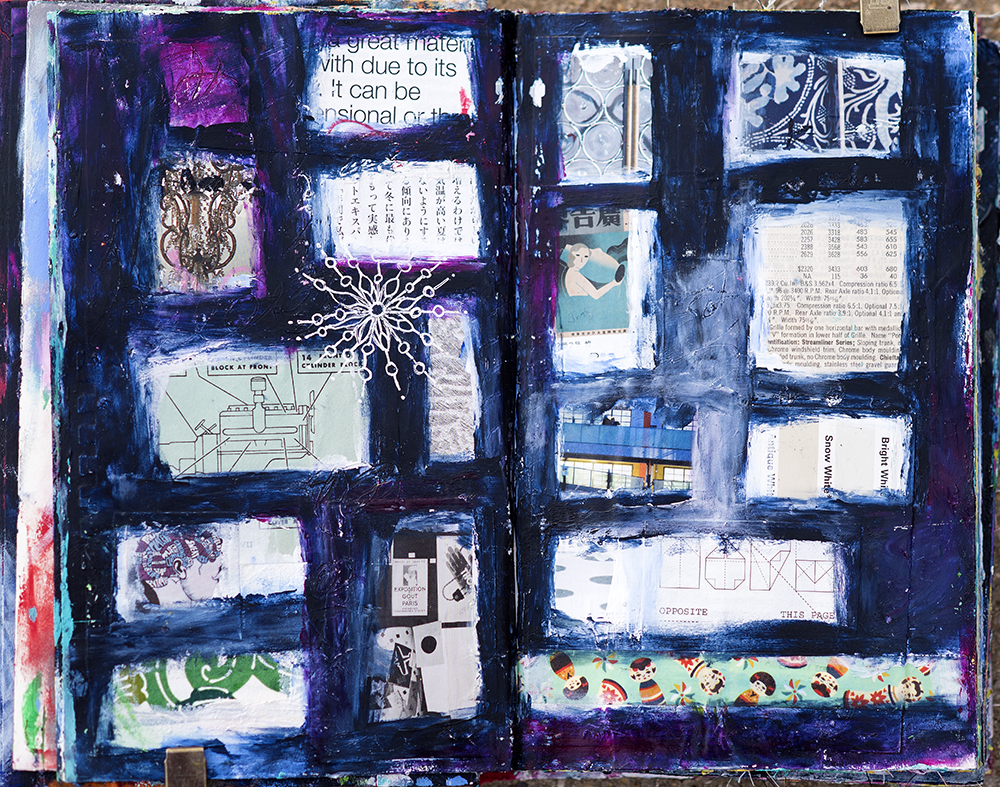 Art Journal pages by Tammy Garcia.