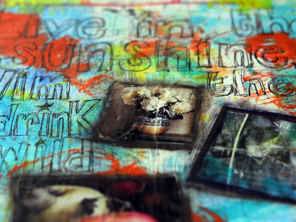 Altered book, 2010, artwork by Tammy Garcia.