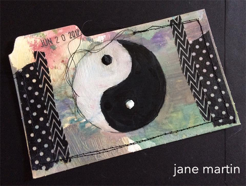 Yin Yang, artwork by jane martin 2017