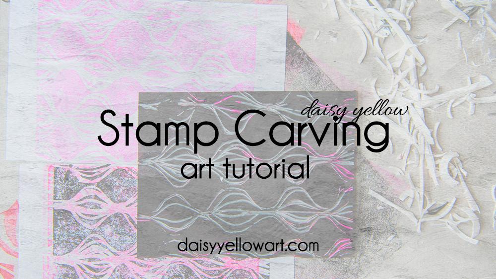Tutorial:Make a hand-carved stamp.