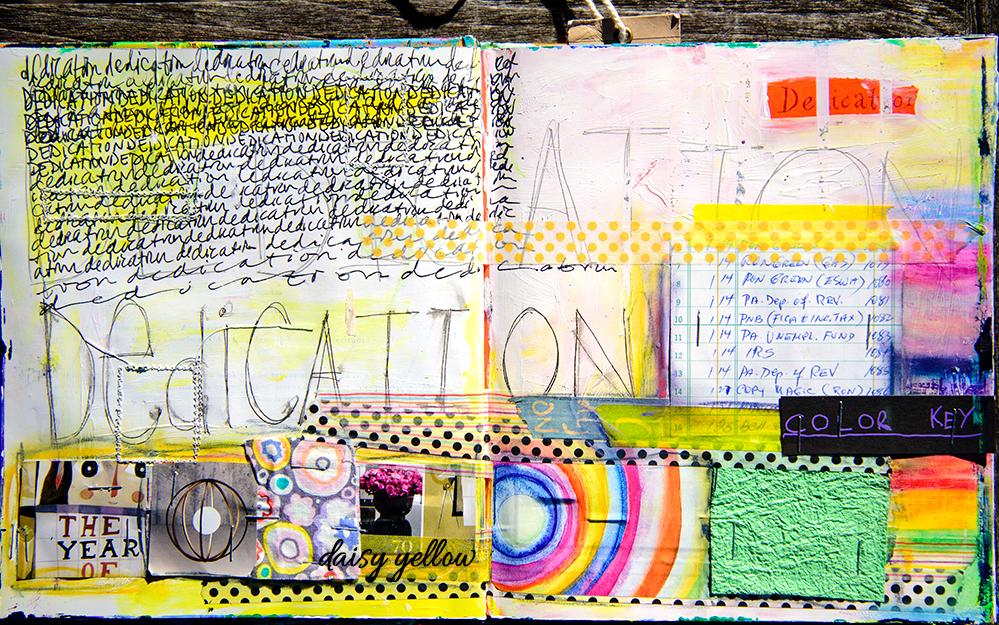 Art journal by Tammy Garcia.