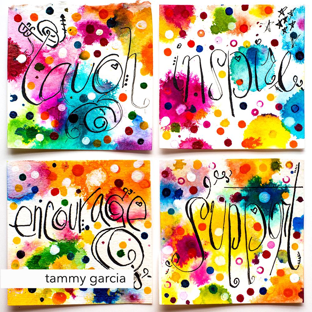 Inked positivity by Tammy Garcia, https://daisyyellowart.com