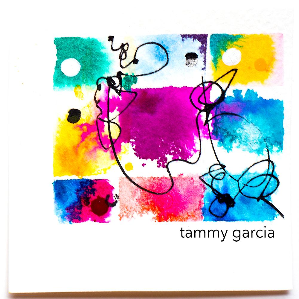 3x3' Polaroid, inked by Tammy Garcia, https://daisyyellowart.com