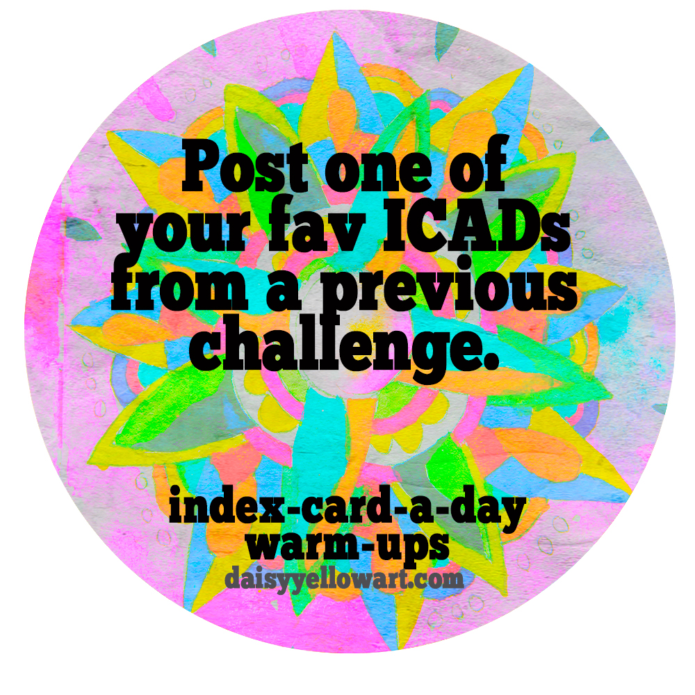 Daisy Yellow ICAD Challenge https://daisyyellowart.com