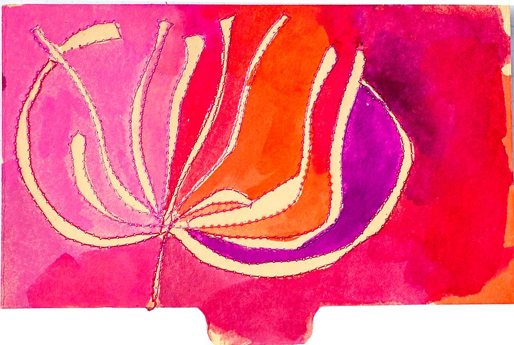"3x5"" index card in ink by Tammy Garcia. https://daisyyellowart.com"