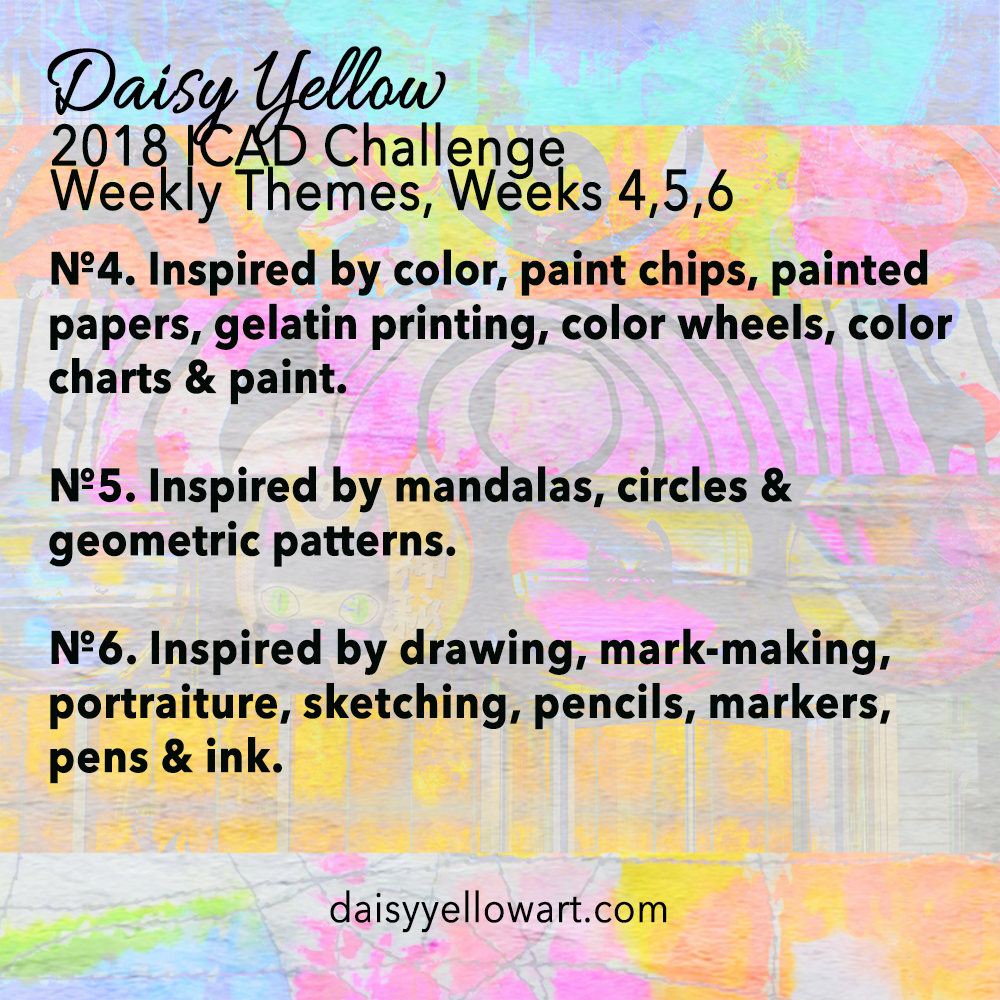 Daisy Yellow Index-Card-a-Day Prompts https://daisyyellowart.com