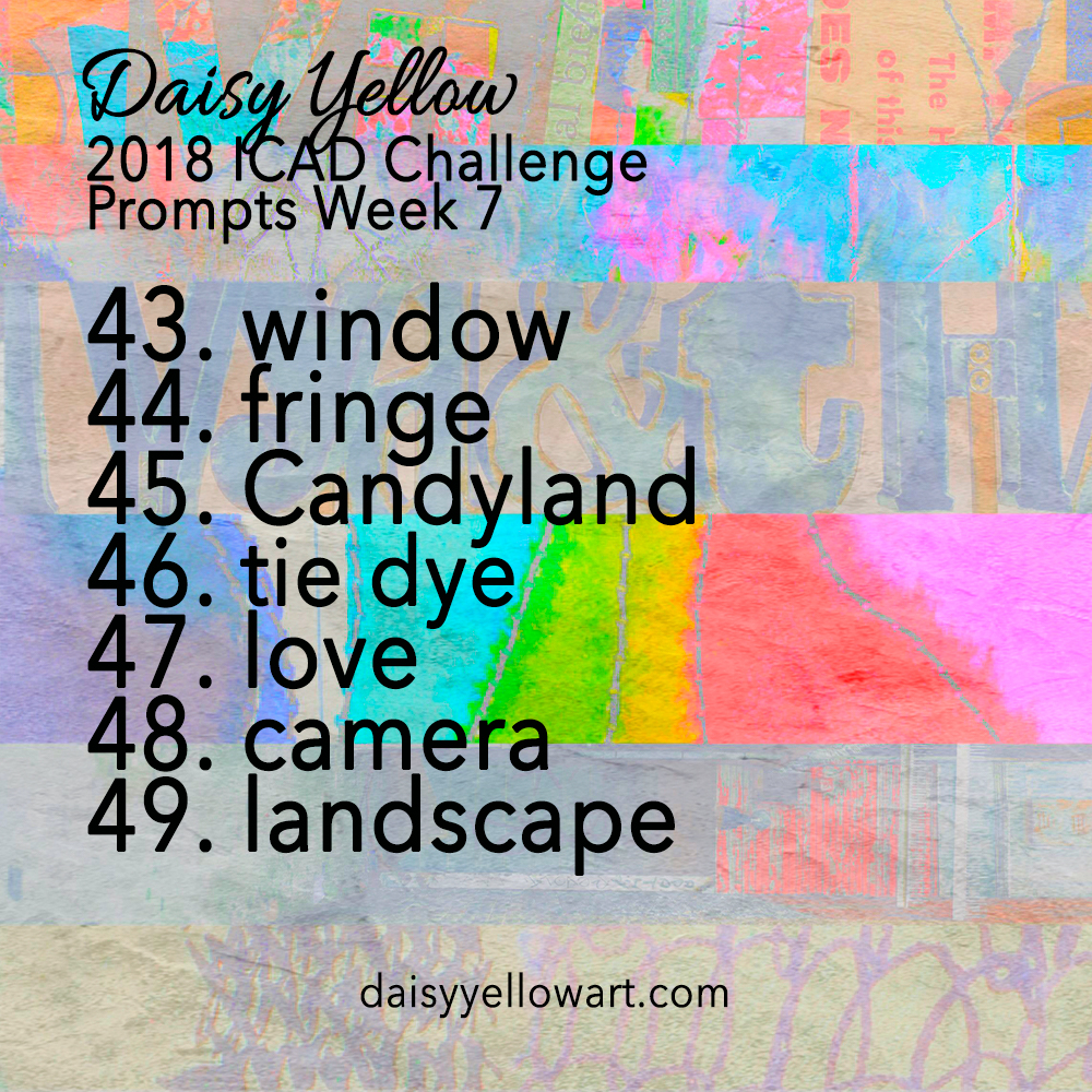 Daisy Yellow Index-Card-a-Day Prompts #creativeprompt https://daisyyellowart.com
