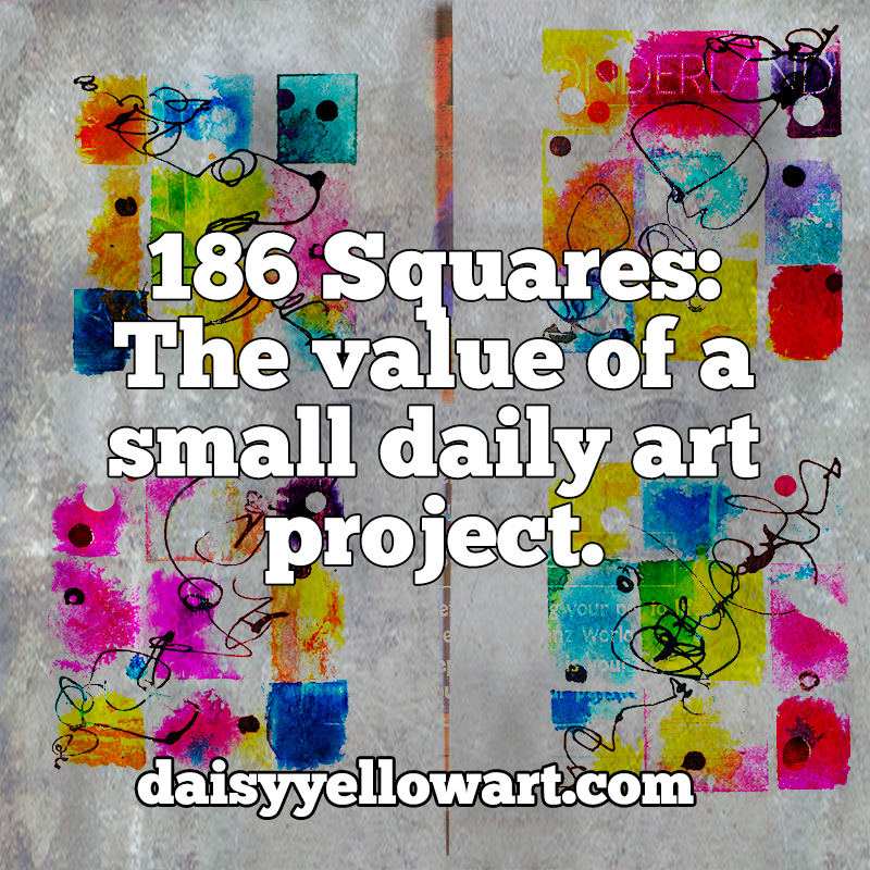 The value of a daily art project. https://daisyyellowart.com