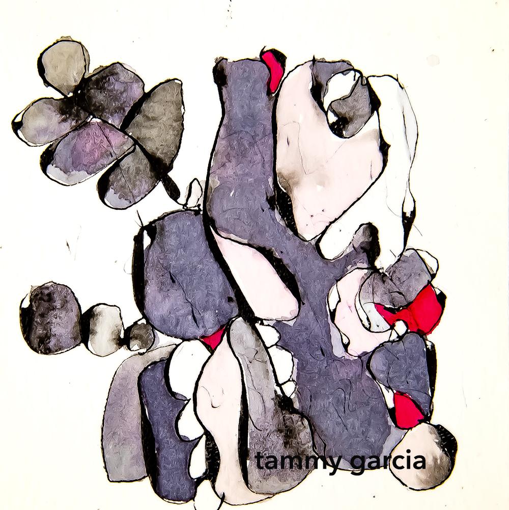 Illustration by Tammy Garcia https://daisyyellowart.com #abstractart