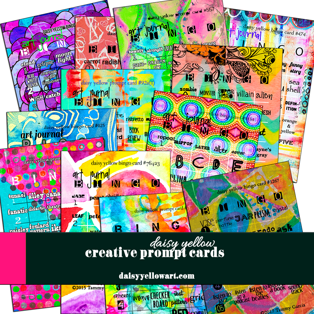 Creative Prompt Cards https://daisyyellowart.com