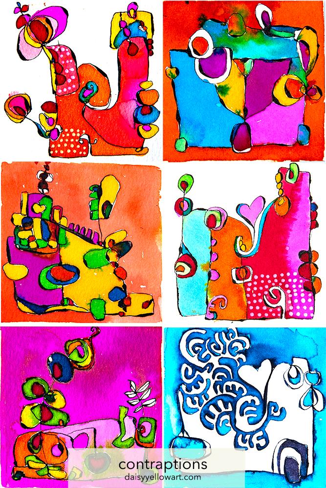 Inked card by Tammy Garcia https://daisyyellowart.com