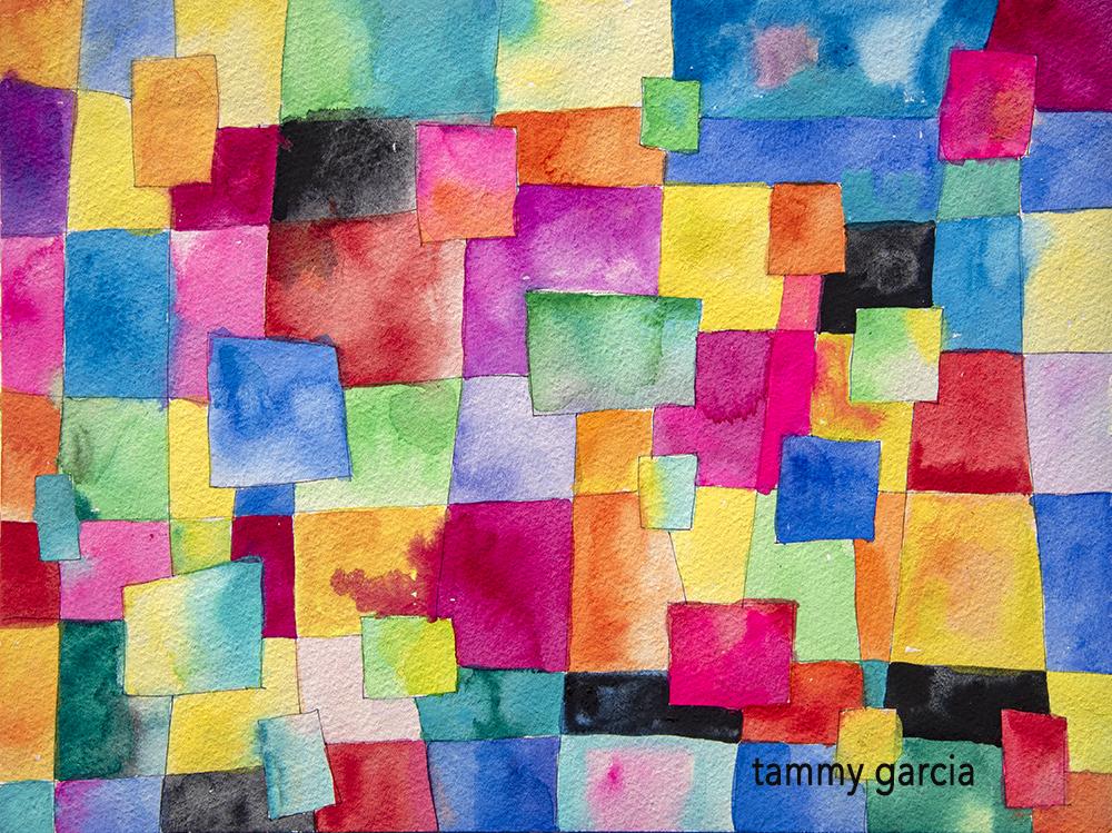 Daisy Yellow Tiny Adventure workshop in watercolor or gouache https://daisyyellowart.com