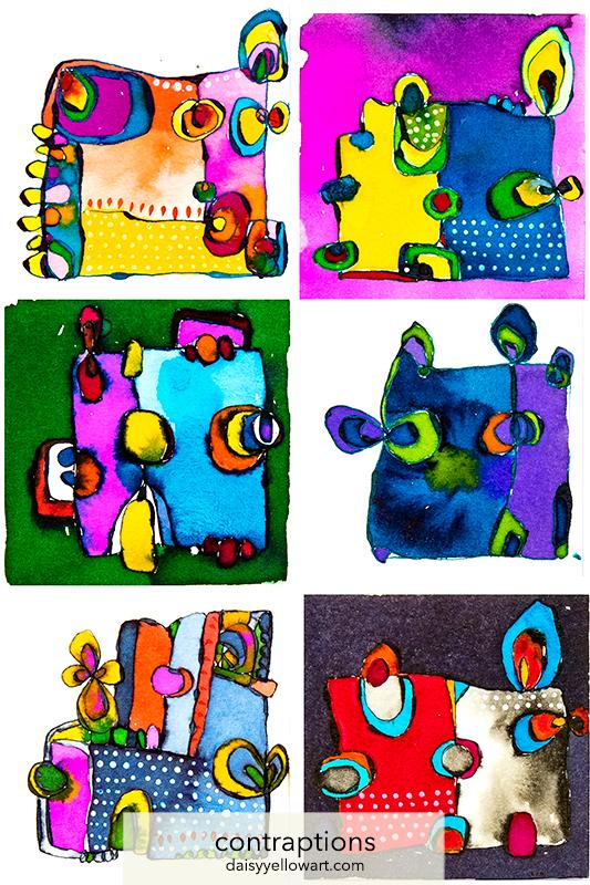 Illustrations in ink by Tammy Garcia https://daisyyellowart.com
