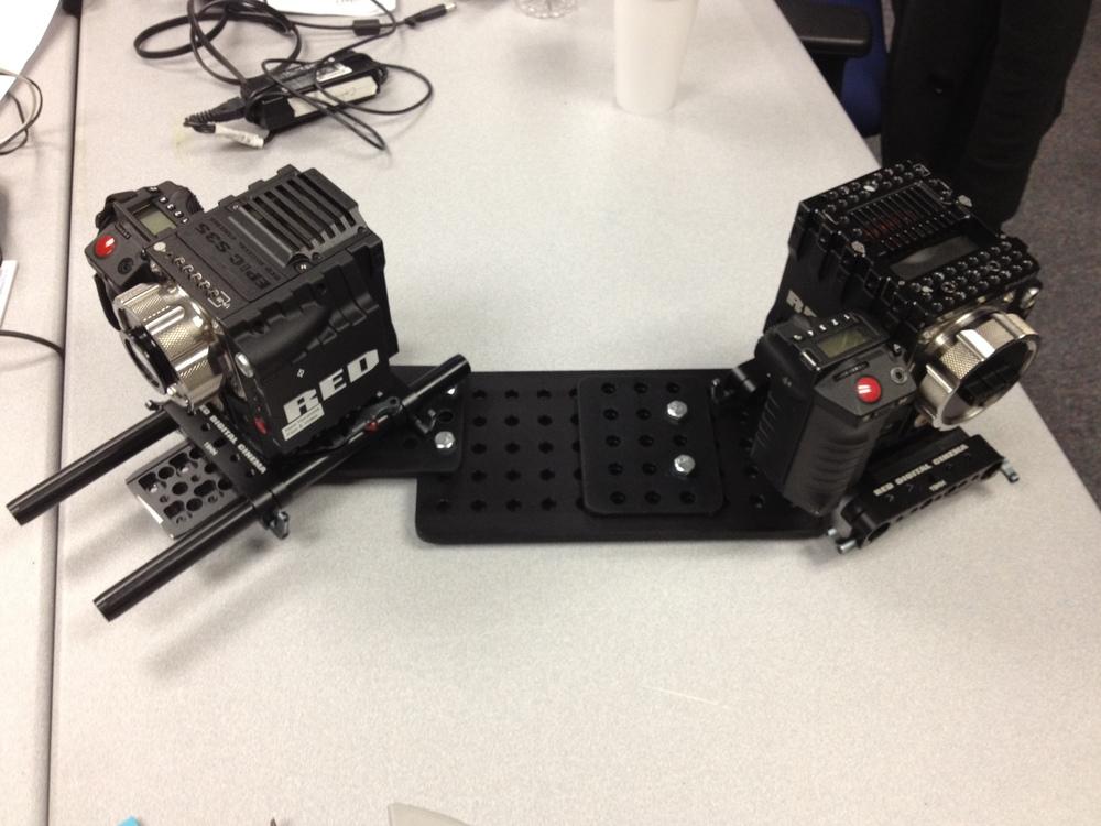 Initial smaller camera platform design
