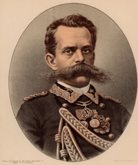 Stock photograph: Portrait of Umberto I, King of Italy