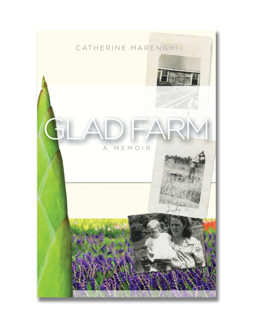 GLAD FARM: initial cover concept #3