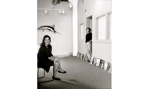 Selene Carlo-Eymer + Doug Eymer, 1990