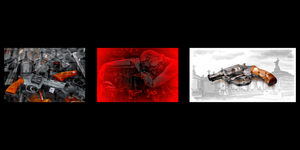 Some of the preliminary visual concepts used to establish the tone.