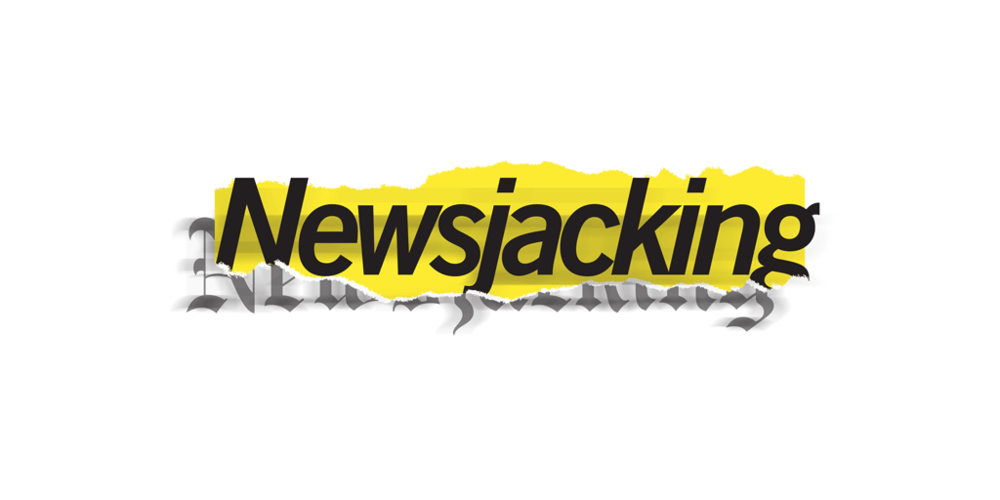Newsjacking logotype