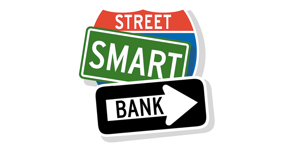 Street Smart Bank | corporate mark concept sketch