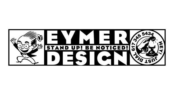 Header for the 1991 EYMER DESIGN, Analog Desk Calendar