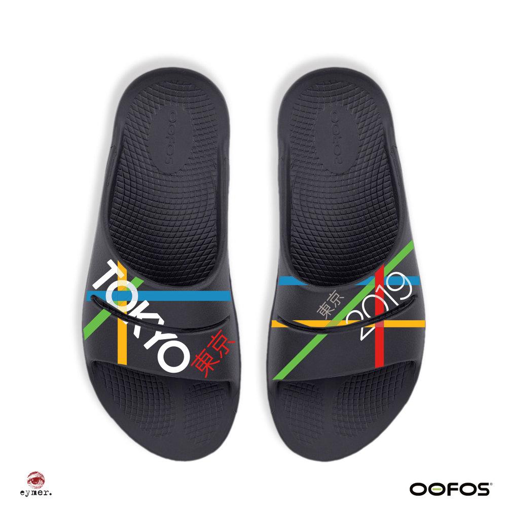 OOah sandal slide | Tokyo