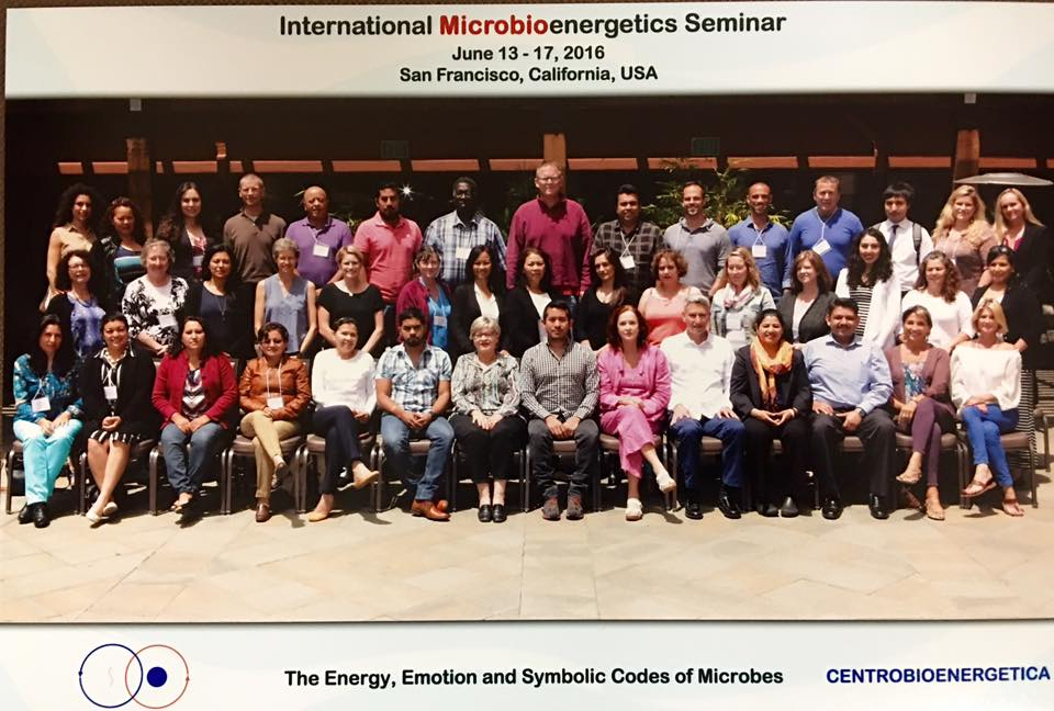 Microbioenergetics San Francisco CA. USA    June 2016