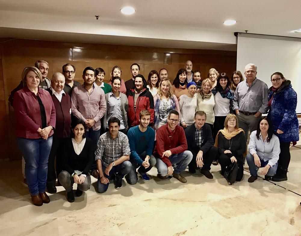 Curso de Biomagnetismo Nivel 2, Zaragoza, España. Nov. 2016
