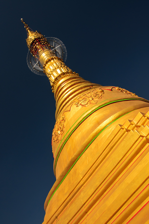 Shwe Sayan Pagoda at Dala, Burma / Myanmar