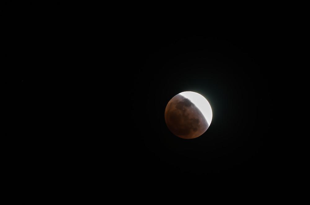 Lunar Eclipse - Chiang Mai