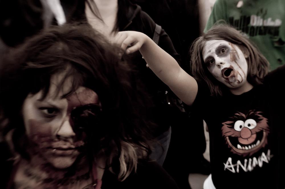 """Animal"" Zombie Walk: Saskatoon, Canada 2011"