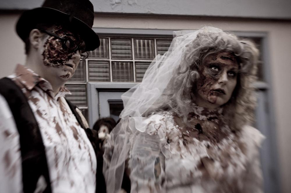 The Wedding @ Zombie Walk: Saskatoon, Canada 2011