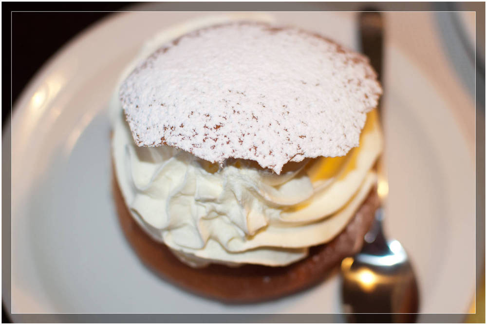 Semla:  A Swedish institution.