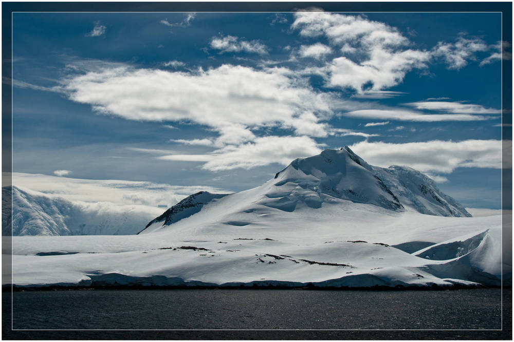 Wind swept snow - Antarctica (c) Dustin Main 2010