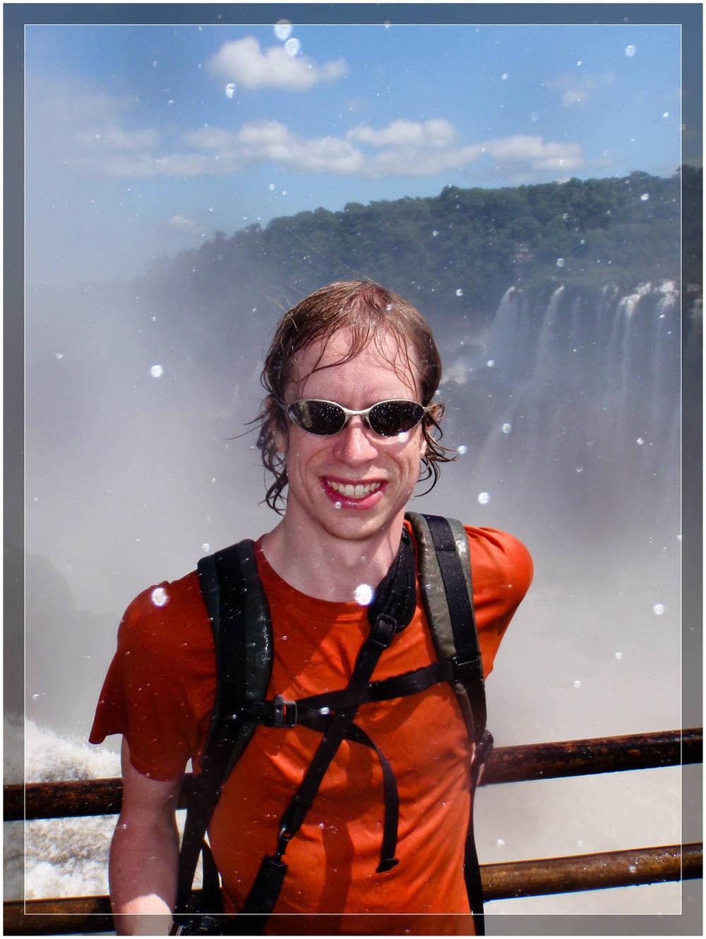 Soaked in Iguazu - Argentina (c) Dustin Main 2010