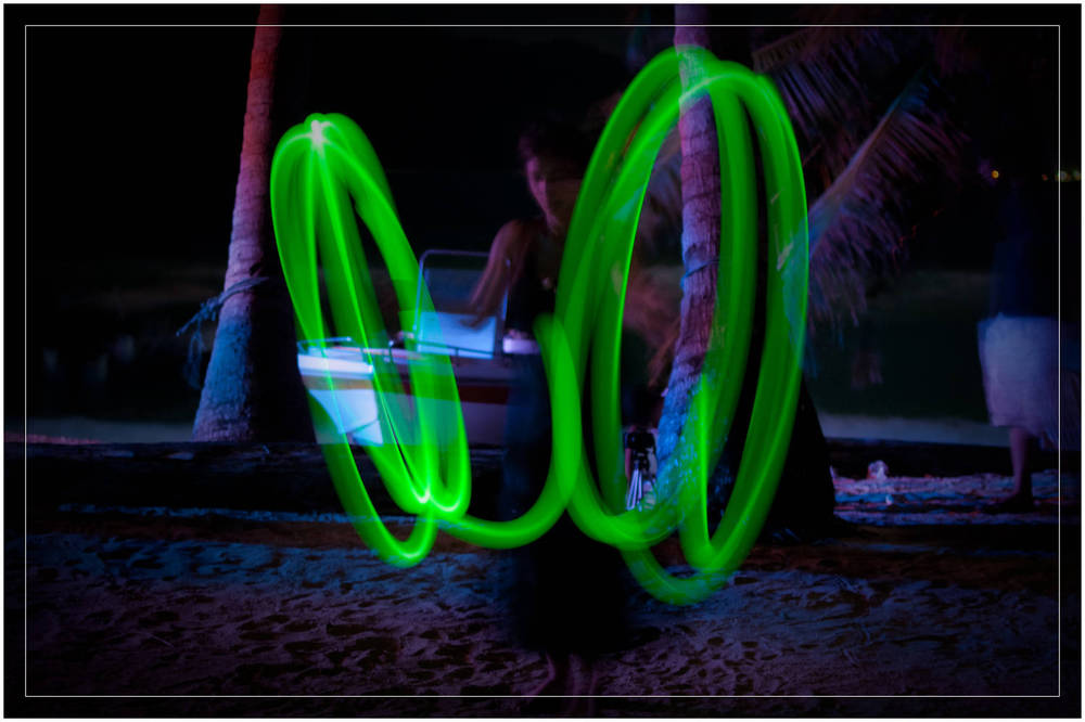 """Dancing Lights""   Perhentian Islands, Malaysia"