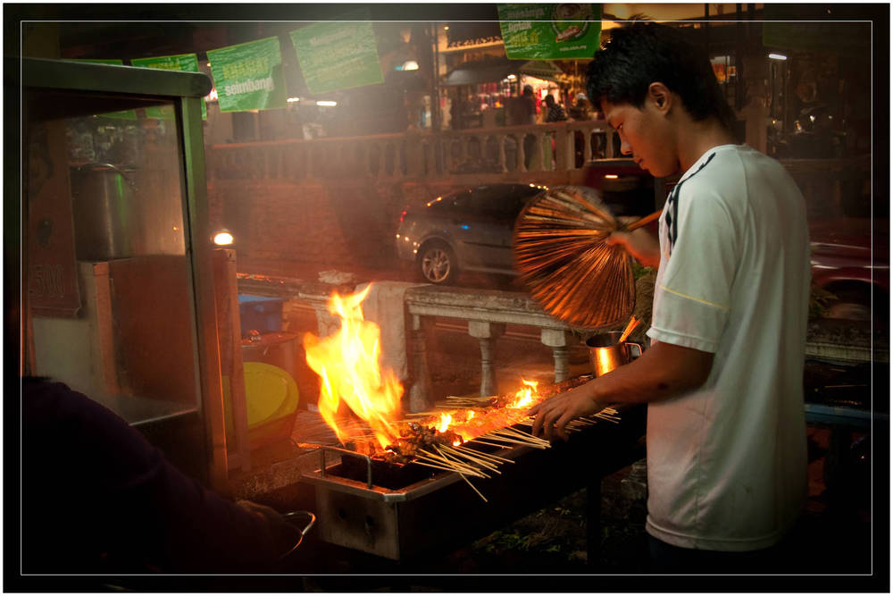 """Satay Sticks"" - Tanah Rata, Malaysia"
