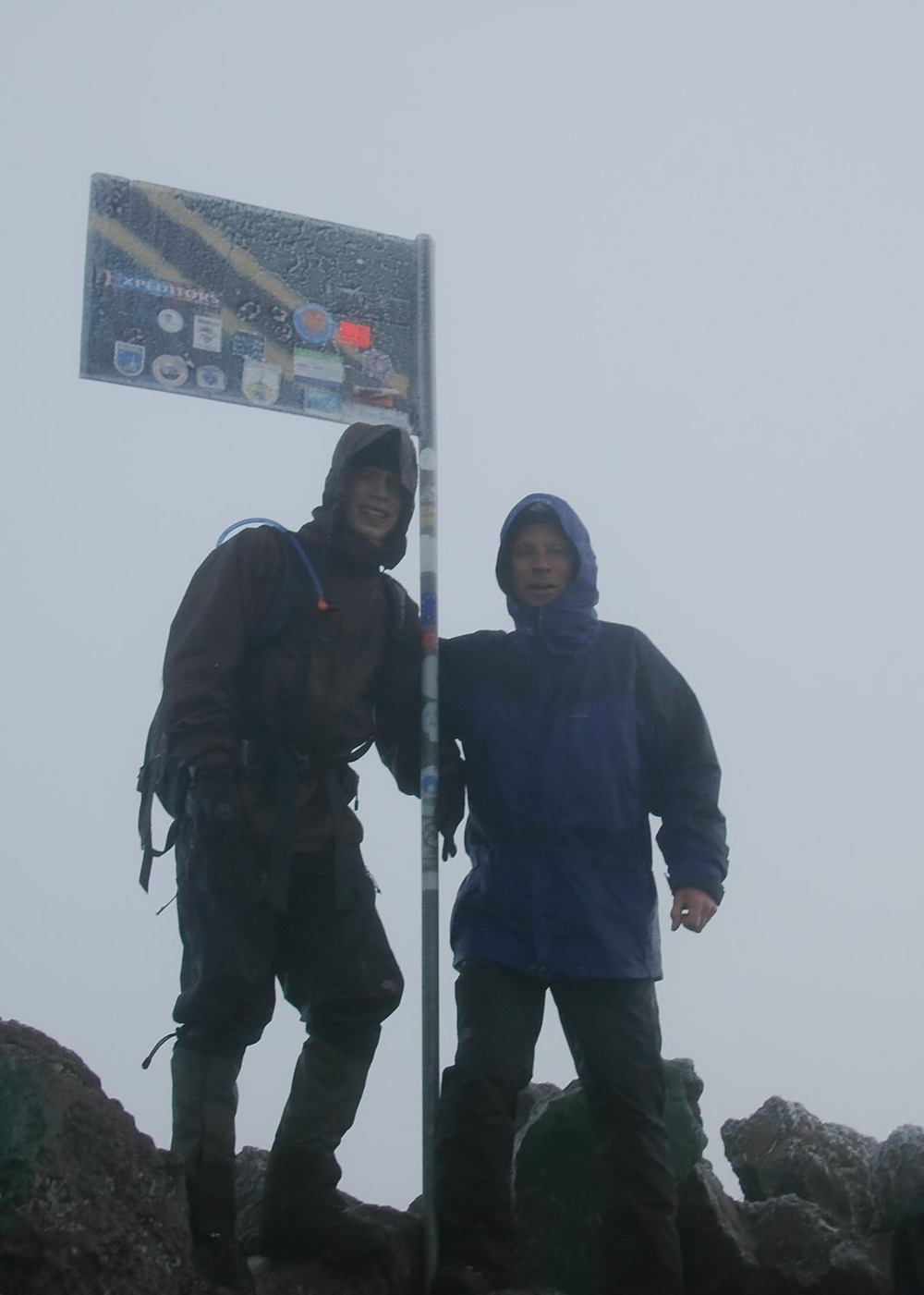 Mt Meru (4,565 metres) - June 2008
