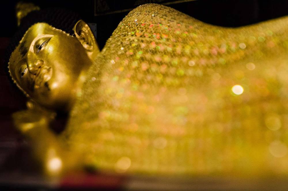 Reclining Buddha. Chiang Mai, Thailand