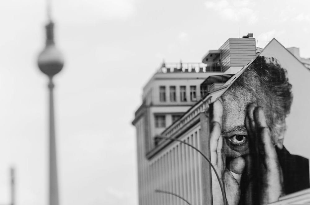 """Eye on You""  Wrinkles in the City - Berlin    © Dustin Main 2013"