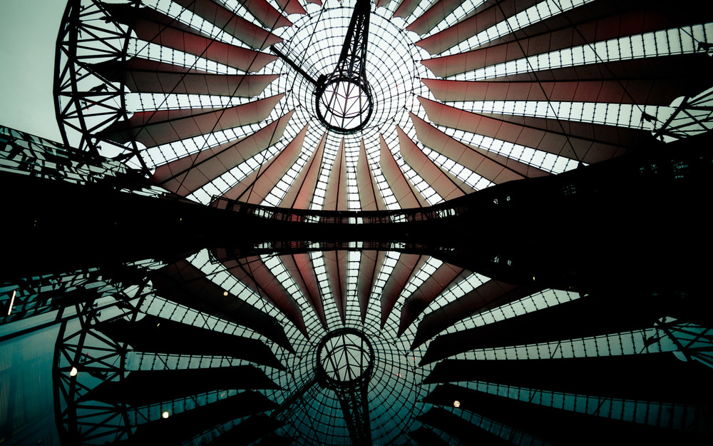 """Mirrored Vortex"" Berlin, Germany  © Dustin Main 2013"
