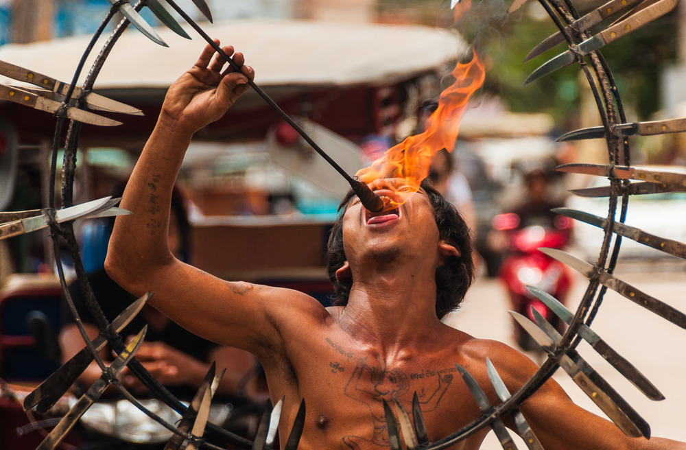 """Fire Eater"""