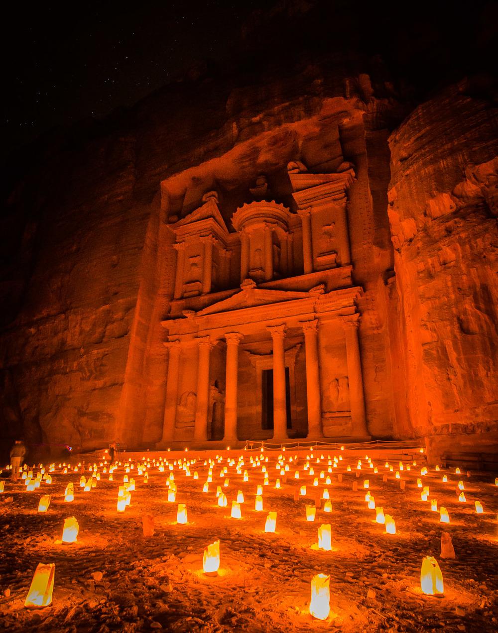 Petra at Night  © Dustin Main 2013