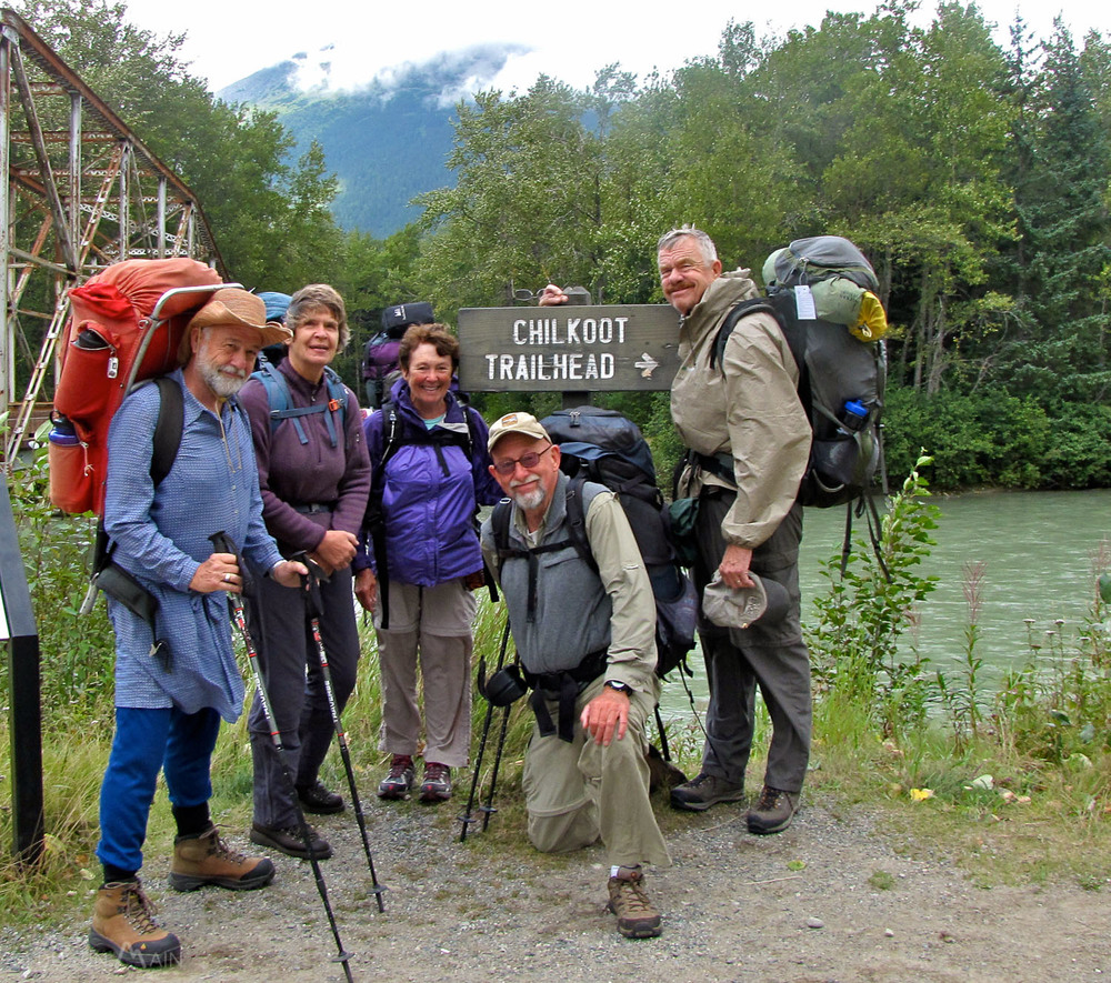 Ronald Rhodehamel on the Chilkoot Trail (2013)
