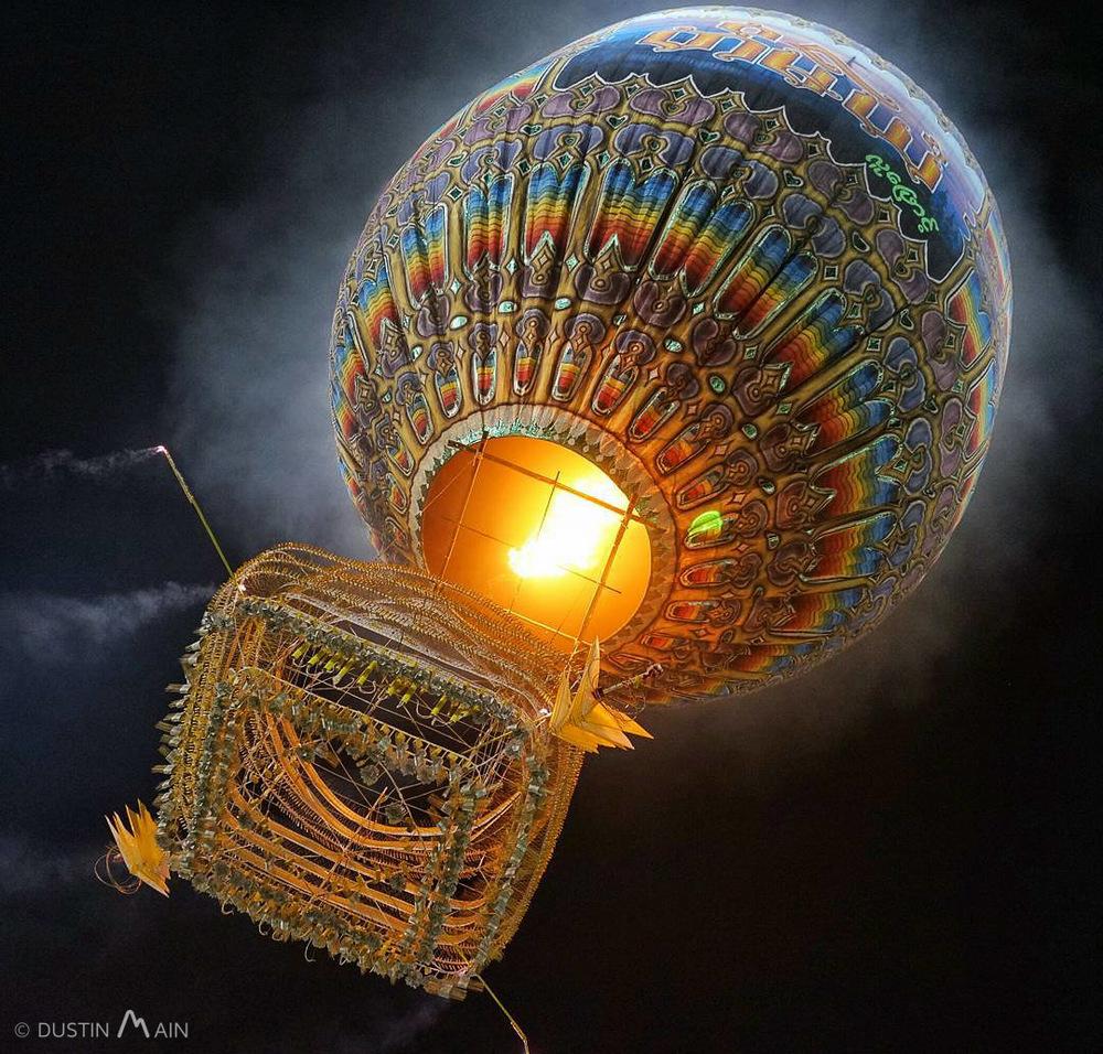 Tauzaungdaing (Fire Balloon Festival). Taunggyi, Myanmar (Burma) © Dustin Main 2015