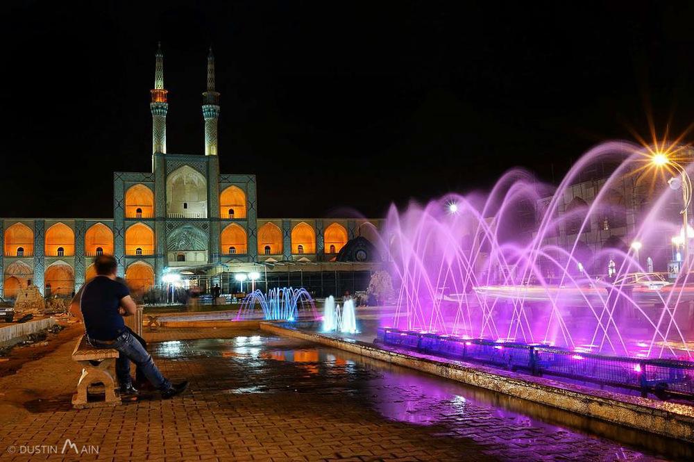 Amir Chakhmaq Mosque. Yazd, Iran © Dustin Main 2015