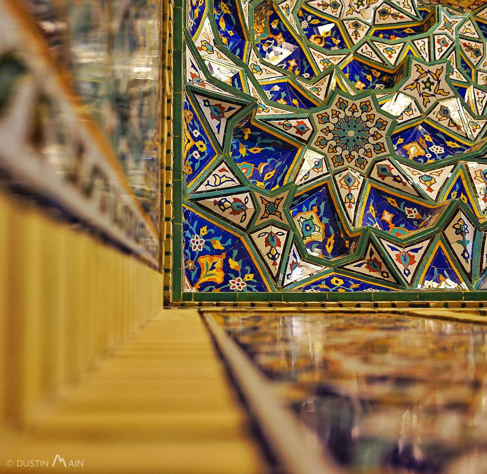 Abstract at Shah-e Cheragh. Shiraz, Iran  © Dustin Main 2015